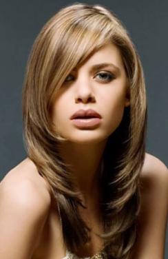 Model rambut untuk rambut tipis - Model Rambut Layer