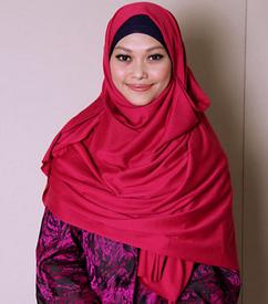 Tutorial Hijab Pasmina Polos