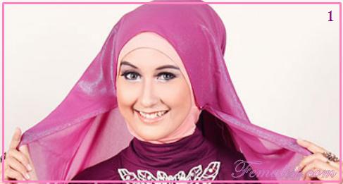 Cara Memakai Jilbab untuk ke Pesta