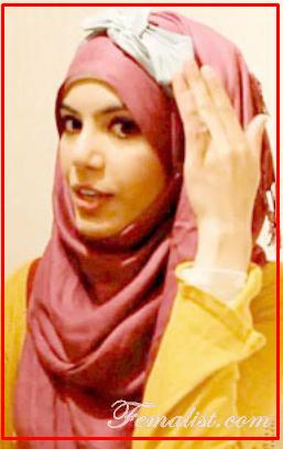 Tutorial Hijab Segi Empat dengan Bandana Pita Cantik Imut