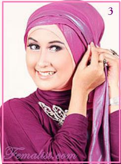 Cara Memakai Jilbab Pasmina untuk ke Pesta