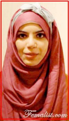 Tutorial Hijab Segi Empat dengan Bandana PIta