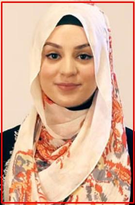 Tutorial Hijab Pasmina Motif Menutup Dada 4