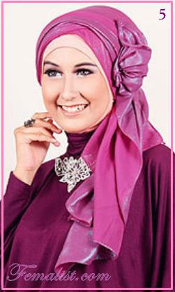 Tutorial Cara Memakai Jilbab untuk ke Pesta