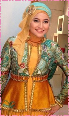25 Koleksi Baju Muslim Artis Modern Terbaru 2017 Update