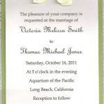 Contoh Undangan Pernikahan 2