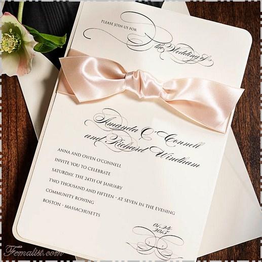 Contoh Undangan Pernikahan 3