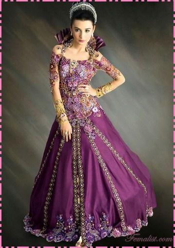 Anda bisa membayangkan jika kebaya modern dan model kebaya pengantin ...