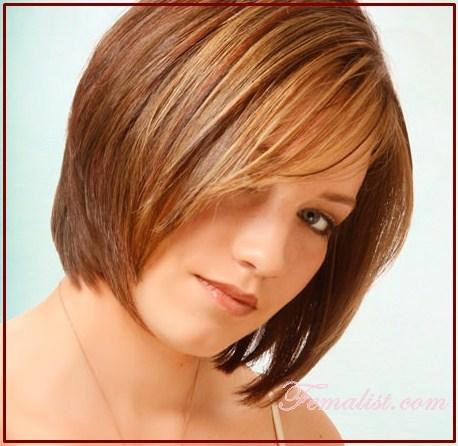 Model Rambut Bob dengan Layer 8