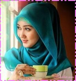 Model hijab terbaru 1