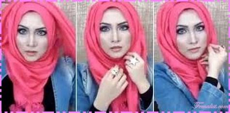Model hijab terbaru 7