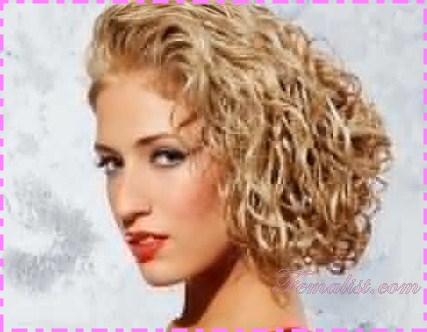 model rambut keriting - 9