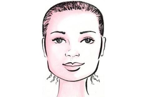 Cara Memakai Hijab Sesuai Bentuk Wajah 4