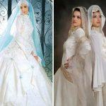 Gaun Pengantin Muslimah 1