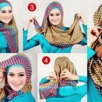 Kumpulan Tutorial Hijab Segi Empat Terbaru 2014 1