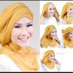 Kumpulan Tutorial Hijab Segi Empat Terbaru 2014 10