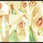 Kumpulan Tutorial Hijab Segi Empat Terbaru 2014 4