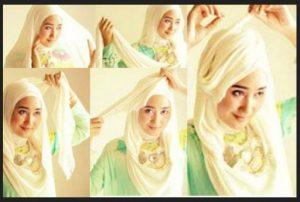 Foto/Gambar/Video Kumpulan Tutorial Hijab Segi Empat Terbaru 2014 4 di ...