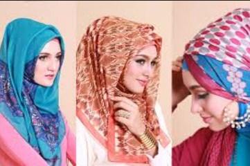 Model Hijab untuk Lebaran 2