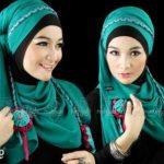 Model Hijab untuk Lebaran 5