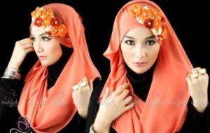 Model Hijab untuk Lebaran 6