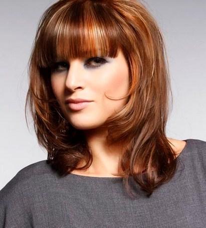 Rambut Sebahu untuk Muka Bulat dan Kotak » 11 Model Rambut Sebahu