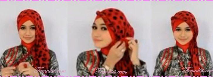 Cara Memakai Hijab Pasmina untuk ke Pesta Terbaru Simpel 0