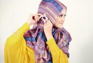 Cara Memakai Jilbab Agar Tidak Jilboobs 1