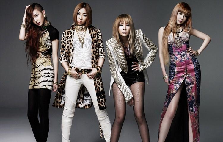 Girlband Korea Terbaik Saat Ini 2 2NE1