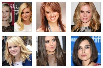Model Rambut Sebahu untuk Muka Bulat dan Kotak