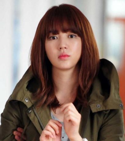 Gaya Rambut Bob Model Korea Terkenal 2 - Yoon Eun Hye Bob Sebahu
