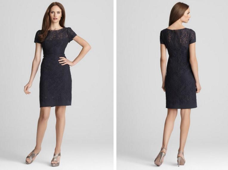 Model Baju Kantor 3 - Dress Baju Kantor Santai Feminin Gelap