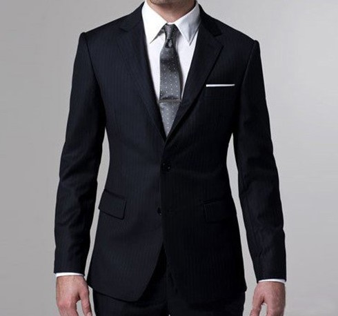 Model Baju Kantor 7 - baju dan Jas keren Putih Hitam Berdasi