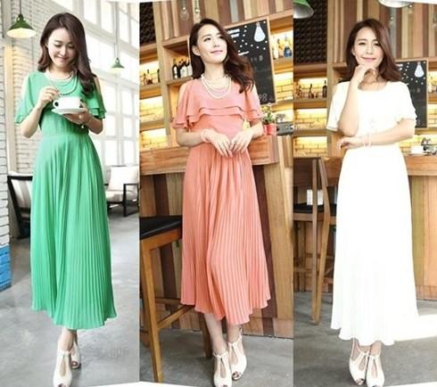 Tips Memilih Model Dress Korea Panjang Untuk Tubuh Mungil