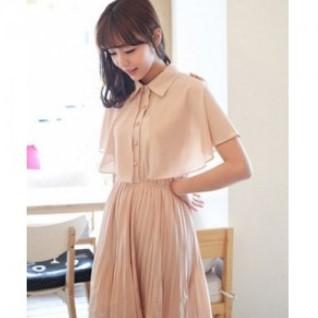 Model Dress Korea Terbaru Cantik 6 - Dress Korea Kalem untuk Remaja