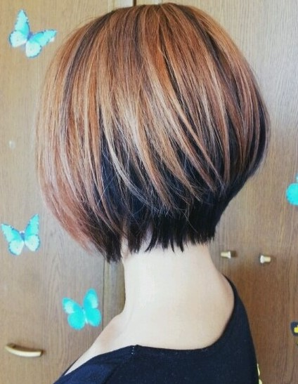 gaya rambut layer pendek wanita