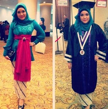 Kumpulan Model Hijab untuk Kebaya yang Cantik 4 - Mode Hijab Modern untuk Kebaya