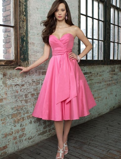 Kumpulan Short Dress Pink untuk ke Pesta 1 - Dress Pink Keren