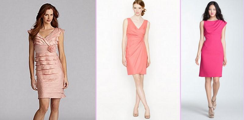 Kumpulan Short Dress Pink untuk ke Pesta 2 - Dress Cantik