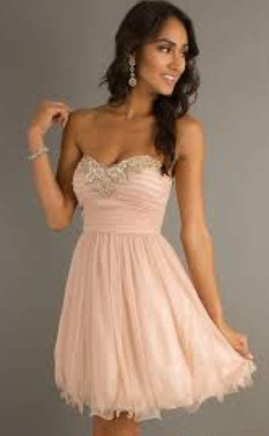 Kumpulan Short Dress Pink untuk ke Pesta 3 - Dress Pink Lembut