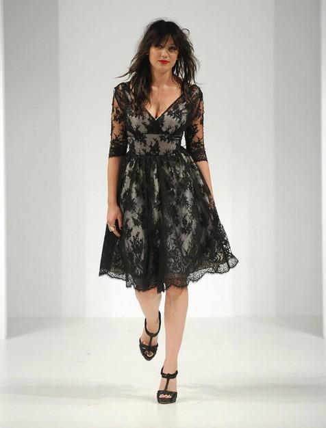 Model Dress Modern 2 - Warna Hitam Keren