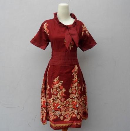Model Dress Modern 3 - Dress Batik