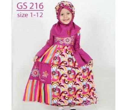 Tips Oke Memilih Baju Muslim Anak 3 - Baju Anak-anak muslim dengan kerudung
