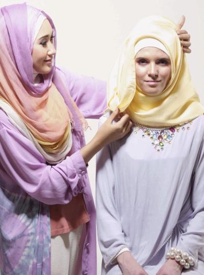Tutorial Hijab Segiempat ala Dian pelangi 7 - Langkah dan Step Ketujuh