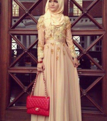 Foto Gaun Kebaya Muslimah Cantik 1