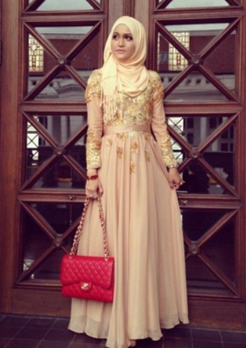 Membuat Gaun Kebaya Muslimah Cantik Dan Dress Pesta