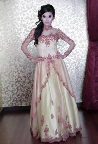 Foto Gaun Kebaya Muslimah Cantik 3 - Dress yang Cantik