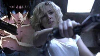 Scarlett Johansson Main Film Ghost in The Shell