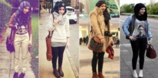 Tips Fashion Saat Musim Hujan Disertai Gambar 3 - Hijab Musim Hujan