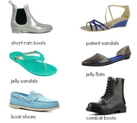 Tips Fashion Saat Musim Hujan Disertai Gambar 4 - Sepatu dan Sandal Buat Musim Hujan